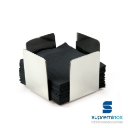 SERVILLETERO MINI BASE 11X11 SUPREMINOX