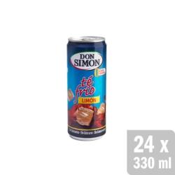 TE AL LIMON LATA 330 ML 6 UDS DON SIMON
