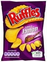 RUFFLES JAMON 1 35     MATUTANO