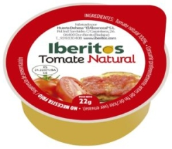IBERITOS TOMATE NATURAL 45 UDS 25 G PORCIONES
