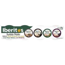 IBERITOS PATE IBERICO PACK 4 1