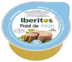 IBERITOS PATE ATUN 45 UDS 25 G PORCIONES