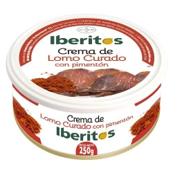 IBERITOS LOMO PIMENTON LATA 250 G