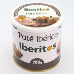 IBERITOS PATE IBERICO LATA 700 GRS
