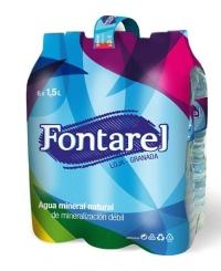 AGUA FONTAREL 1 5 L PACK 6 UDS