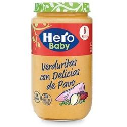 HERO VERDURAS HUERTA CON PAVO 250 GRS