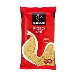 FIDEOS GALLO N �4 250 GRS