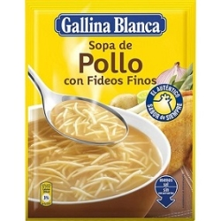 SOPA POLLO CON FIDEOS 76 GR GALLINA BLANCA