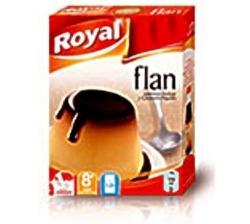 FLAN ROYAL CON CARAMELO 8 UDS
