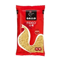 FIDEOS GALLO N �4 500 GRS
