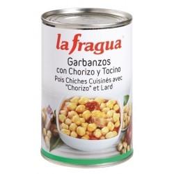 GARBANZOS CON CHORIZO LATA 1 2 KG LA FRAGUA