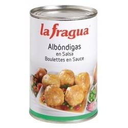 ALBONDIGAS EN SALSA LATA 1 2 KG LA FRAGUA