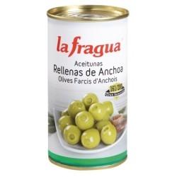 ACEITUNA RELLENA ANCHOA LATA 500 GRS LA FRAGUA