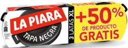PATE TAPA NEGRA PACK 3 50 % LA PIARA