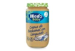 HERO CREMA DE BECHAMEL CON LENGUADO 250 GRS