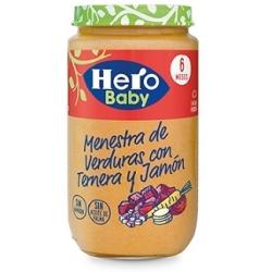 HERO MENESTRA VERDURAS JAMON TERNERA 250 GRS