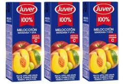ZUMO MELOCOTON PACK 3 200 ML JUVER