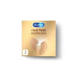DUREX REAL FELL PACK 3 UDS