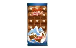 TABLETA CHOCOLATE MONTA� AS 1     EUROCHOC