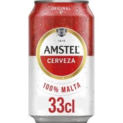 CERVEZA AMSTEL LATA 24 UDS 330 ML