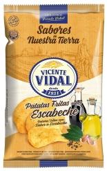 PATATAS ESCABECHE 135 GRS VICENTE VIDAL