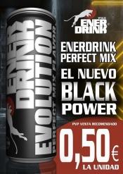 ENERDRINK EVOLUTION PERFECT MIX 24 UDS 0 50      NEGRO