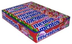 MENTOS FRESA 20 UDS 0 60
