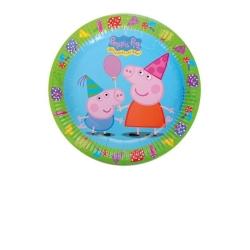 PLATOS PEPPA PIG 23 CM 8 UDS