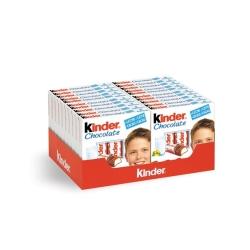 KINDER CHOCOLATE T 4 20 UDS 1