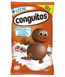 CONGUITOS CHOCO LECHE 1 KG
