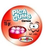 PICA GUMS CEREZA 24 UDS 0 20