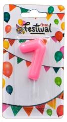VELA ROSA N �7 GRAN FESTIVAL