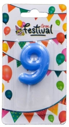 VELA AZUL N �9 GRAN FESTIVAL