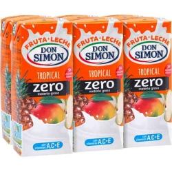 TROPICAL ZERO 200 ML PACK 6 DON SIMON
