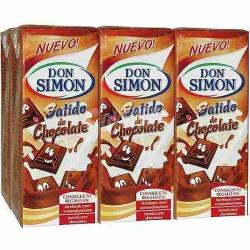 BATIDO CHOCOLATE BRIK 200 ML PACK 6 DON SIMON