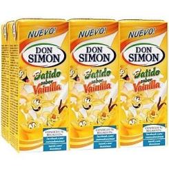 BATIDO VAINILLA BRIK 200 ML PACK 6 DON SIMON
