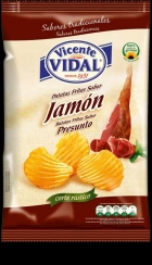 PATATAS JAMON 135 GRS VICENTE VIDAL