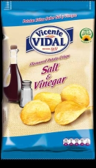 PATATAS SAL Y VINAGRE 135 GRS VICENTE VIDAL